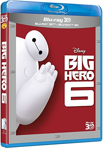 Big Hero 6 (BD 3D + BD) Blu-ray