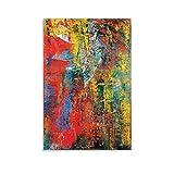 FINDEMO Gerhard Richter Clouds Poster dekorative Malerei