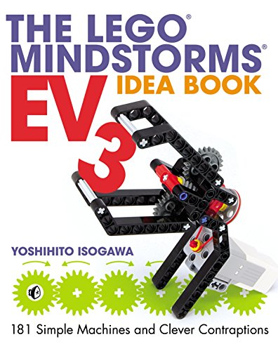 Book's Cover of The LEGO MINDSTORMS EV3 Idea Book: 181 Simple Machines and Clever Contraptions (English Edition) Versión Kindle