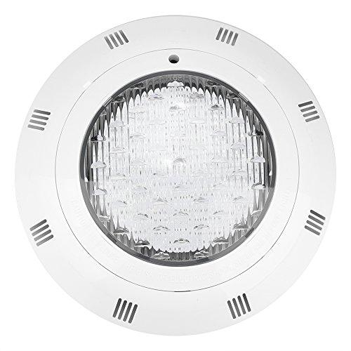 Raguso Luces de Piscina LED RGB de 30W Lámpara de Piscina subacuática Impermeable Multicolor con Control Remoto para Fuente de Estanque