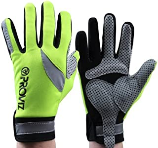 Proviz Men's Cycling Glove, Safety Yellow