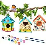 MMTX DIY Wooden Birdhouse Crafts...