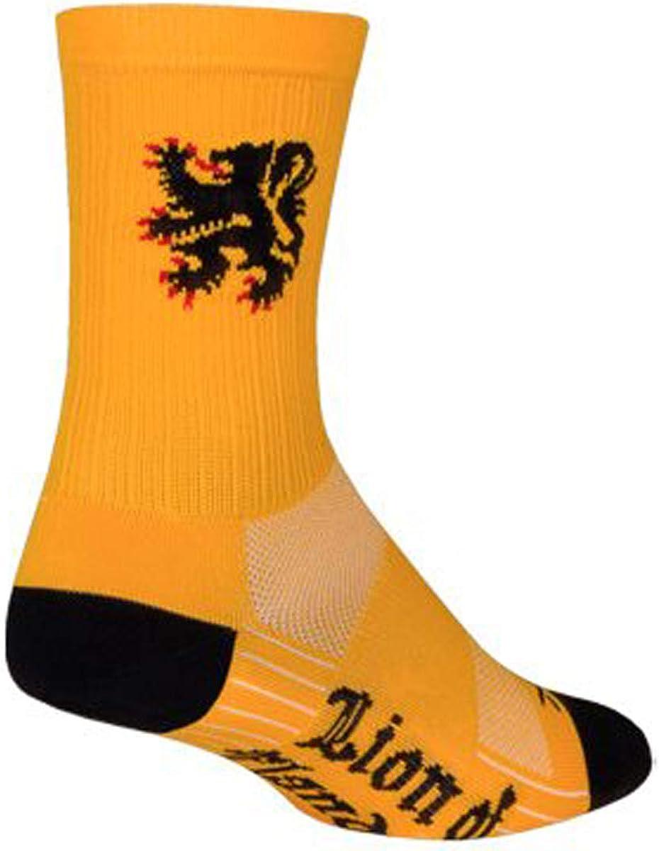 SockGuy SGX 6in Flanders Performance Cycling/Running Socks