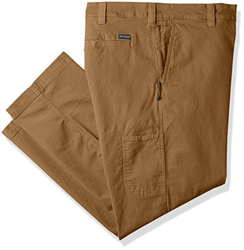 Columbia Flex Roc Pantalón de Senderismo para Hombre, Pantalón Flex Roc, Hombre, Color Delta, tamaño 46W / 32L