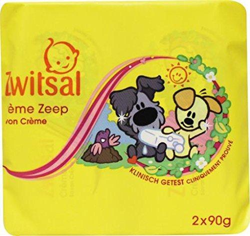 Zwitsal Zeep Woezel & Pip, 90 g, 2 Stuk