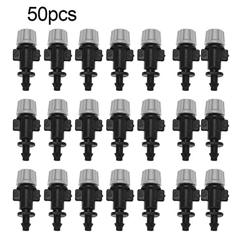 Pssopp 50pcs/Set Misting Nozzles Sprinkler Head Atomizer for Patio Garden...
