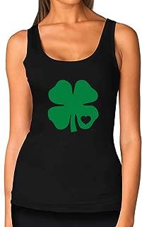 TeeStars - Irish Shamrock Green Clover Heart St. Patrick's Day Women Tank Top