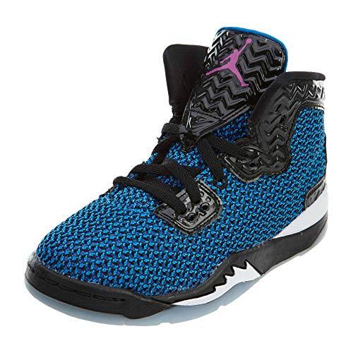 Nike Jordan Spike Forty BP, Zapatillas de Deporte para Niños, Negro/Rosa/Naranja (Black/FR Pink-PHT Bl-ATMC Orng), 32 EU