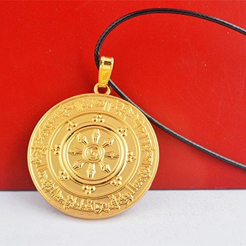 Fengshui potente protección contra cualquier tipo de 8 magia negra medallón colgante + GRATIS Mxsabrina rojo cadena pulsera W1225