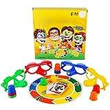 Juegos de Fiesta, Diversión Familiar Mentiroso Juego de Mesa de Fibra Interesantes Juguetes Interactivos Familiares para Niños Adultos