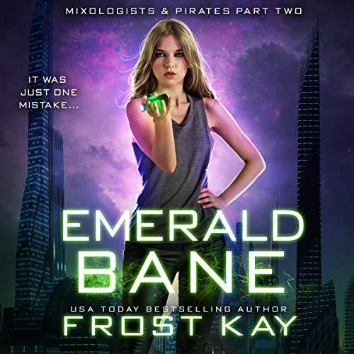 Emerald Bane audiobook cover art