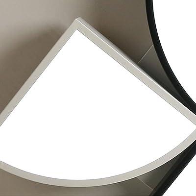Amazon.com: Unitary moderno blanco redondo de acrílico LED ...