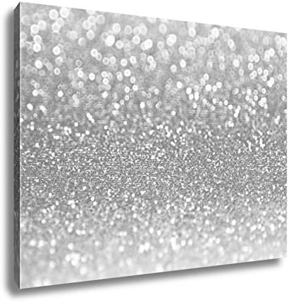 Amazon Com Ashley Canvas Coral Pink Glitter Sparkle Wall Art Home Decor Ready To Hang Black White 16x20 Ag6086770 Posters Prints