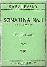 Best kabalevsky sonatina no 1 Reviews