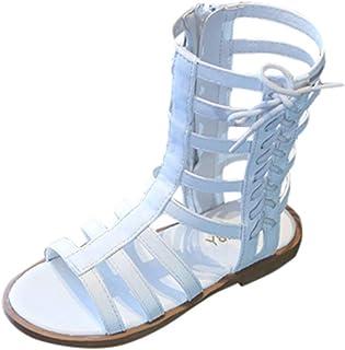 WINJIN Sandales Bébé Filles Chaussures Enfant Roma, Mules Sabots Bébé Filles Ete Chaussures Plage Chaussures Casual Antidé...