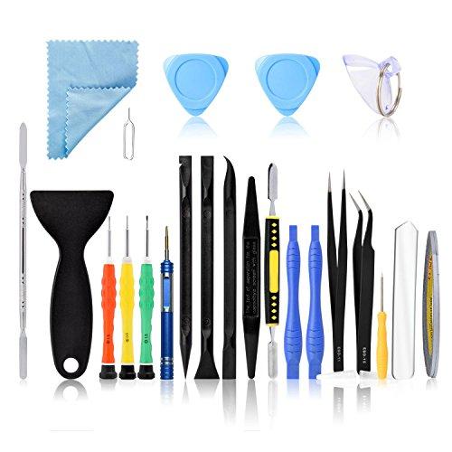 attrezzi smartphone Neuftech 22 kit di cacciavite strumenti apertura smontaggio riparazione per iPhone 4 4S 5s 6 Plus 7 iPod iTouch