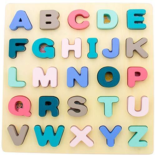 Rompecabezas del alfabeto - Clavija de madera ...