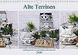Alte Terrinen Lieblingsstücke aus Deutschland und Frankreich (Wandkalender 2020 DIN A4 quer): Liebevoll arrangierte Fotografien Alter und antiker (Monatskalender, 13 Seiten) (CALVENDO Kunst) [Ca