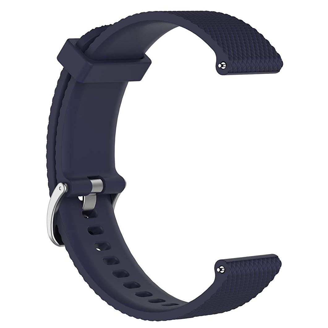 水銀のはねかける添付バードランタンウォッチアクセサリーソフトシリコンスマートリストバンド腕時計バンドポーラーヴァンテージM(ダークブルー)に適した交換