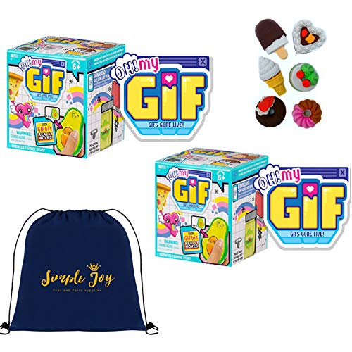 OH! MY GIF Animated Figurine 2-Pack Gift Set - Simple Joy Toys