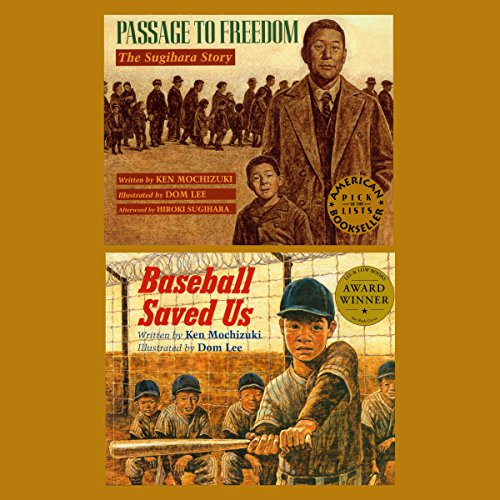 Passage to Freedom / Baseball Saved Us  audiobook cover art
