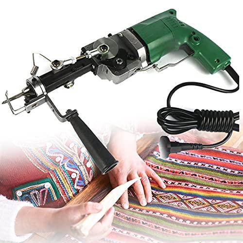 SUNWEII Carpet Tufting Gun máquina Profesional para Tejer alfombras, máquina Manual para Tejer,...