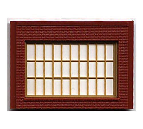 Woodland Scenics HO DPM 1 Story Steel Sash Window (4)