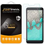 (2 Pack) Supershieldz for Wiko Ride Tempered Glass Screen Protector, Anti Scratch, Bubble Free