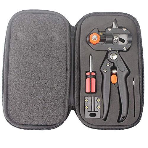 Unknow Kit d'outils d'élagage d'élagage de Jardinage, avec 2 Lames, Outil de greffage, Ciseaux Outil de greffage Coupe pruneau