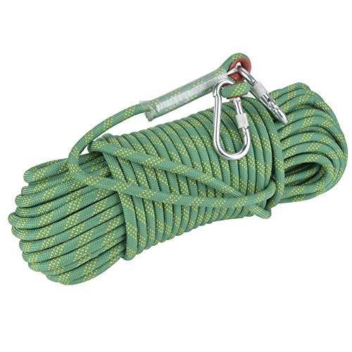 Fafeims 30 m 12 mm de diámetro Cuerda de Escape Cuerda de...