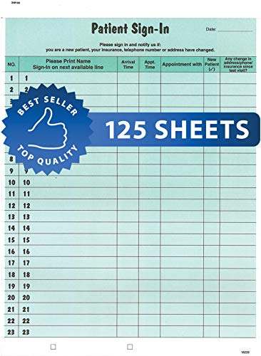 tabbies Confidential Record Book, Green (14532), 125 Pack
