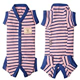 TONY HOBY Pure Cotton Stripe Knit Pajama Pet...