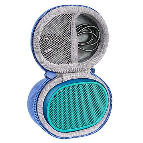 Duro Viajar Caso Cubrir para Sony SRSXB01 Altavoz inalámbrico portátil por co2CREA (Azul)