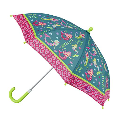 Stephen Josheph Gifts Kids' Stephen Joseph All Over Print Umbrella, Mermaid, one Size