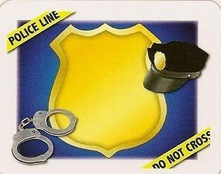 Police Officer - Edible Cake Topper - D1101