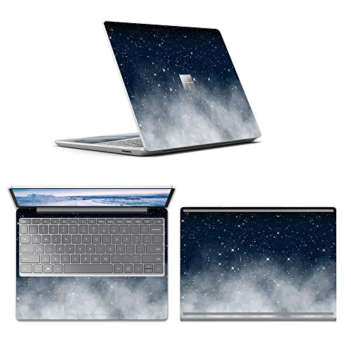 MasiBloom Laptop Protector Skin Decal Sticker for 12.4 inch Microsoft Surface Laptop Go Anti-Scratch Vinyl Laptop Anti-Scratch Protective Skin (ACD Side ( 3in1 Fullbody ), Starry Night Sky)