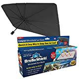 Ontel Brella Shield by Arctic Air, Car Windshield Sun Shade, One-Size (31x57), As Seen on TV