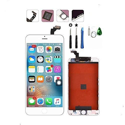 iPoint & Reparatie iPhone 6 Plus Scherm Vervanging LCD Touch Digitizer Display voor iPhone 6 plus Volledige montage met Gratis gereedschap, iphone6 plus-white