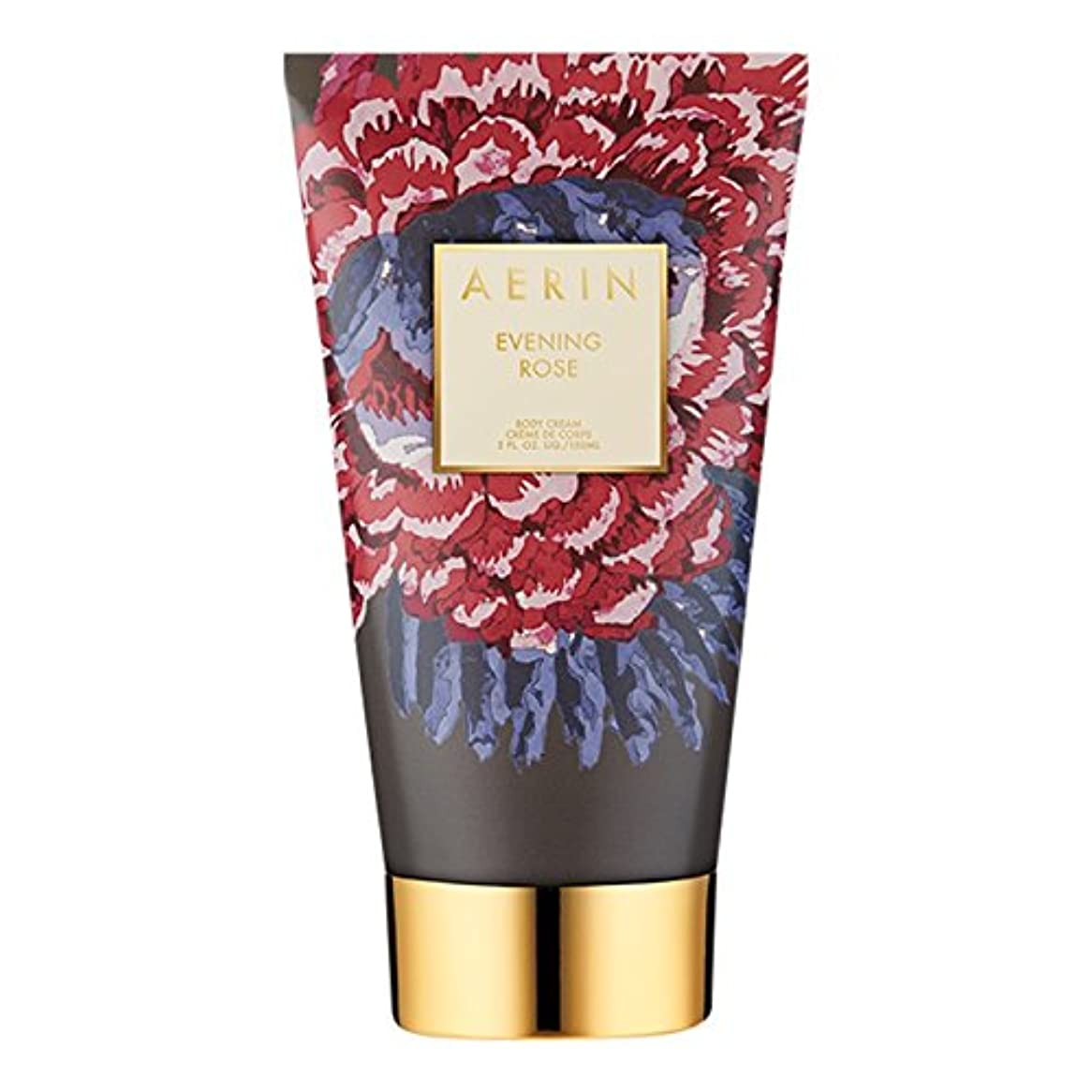 悪行消費者貫入Aerinの夜は、ボディクリーム150ミリリットルをバラ (AERIN) (x2) - AERIN Evening Rose Body Cream 150ml (Pack of 2) [並行輸入品]