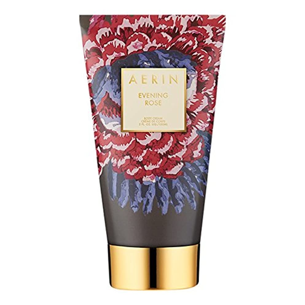 パラナ川魔術師大騒ぎAerinの夜は、ボディクリーム150ミリリットルをバラ (AERIN) - AERIN Evening Rose Body Cream 150ml [並行輸入品]