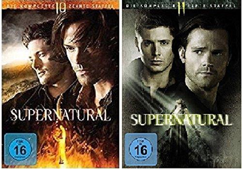 Supernatural Staffel 10+11 [DVD Set]