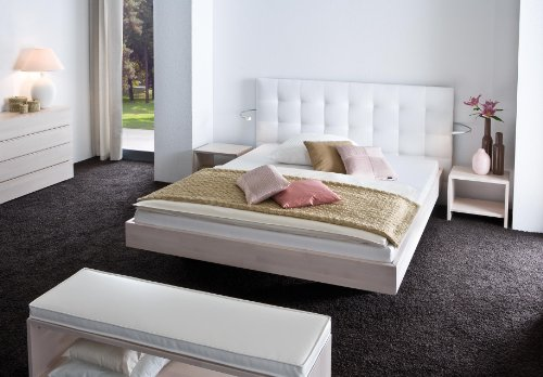 Stilbetten Bett Holzbetten Tessa Buche Schoko 160x190 cm