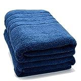 100% Cotton Bath Sheet Set of 2–Super Soft Bath Sheets 35x70–Blue Opal Bath Sheet Towel Set–Oversized Bath Towels–Quick Dry Bath Sheets–Super Absorbent Bath Sheets–Bath Sheets Spa Hotel Collection