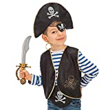 Set pirata Per bimbo In busta