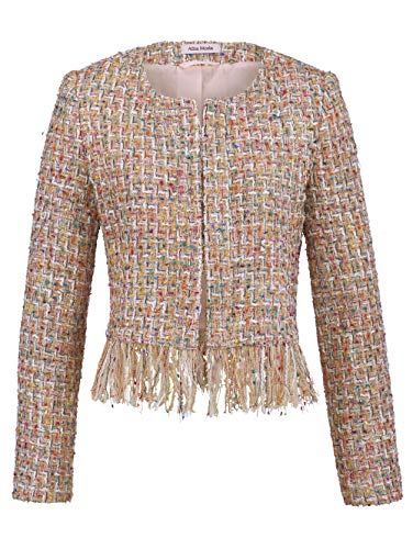 Alba Moda Damen Blazer Rosé 44 Kunstfaser