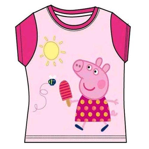 T-shirt Peppa Pig Disney fille rose fuchsia 6 ans PP/50003/2