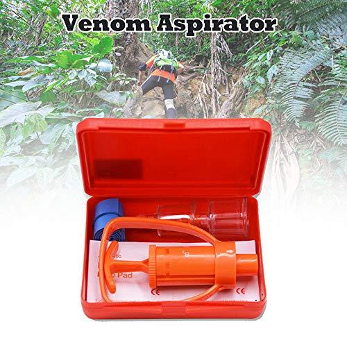 YFMXO Gift Sbsauger Set, Venom Extractor Pump Erste Hilfe Sicherheits Tool Kit Notfall Schlangenbiss Überleben Hot für wandern et Reise