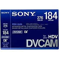 SONY/ソニー DVCAM テープ 184分 メモリーなし 10本セット[PDV-184N]国内正規品