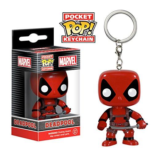 Funko POP Keychain: Marvel - Deadpool Action Figure