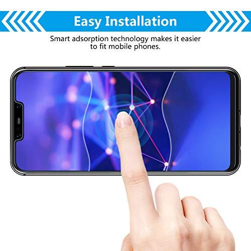Bigmeda Schutzfolie für Huawei Mate 20 Lite,Blasenfrei, Anti-Kratzen, Anti-Öl, HD Klar Flexible Displayschutzfolie für Huawei Mate 20 Lite Folie [3 Stück] - 4